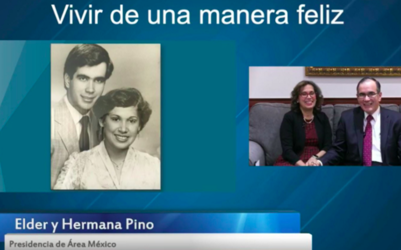 Presidente y hermana Pino