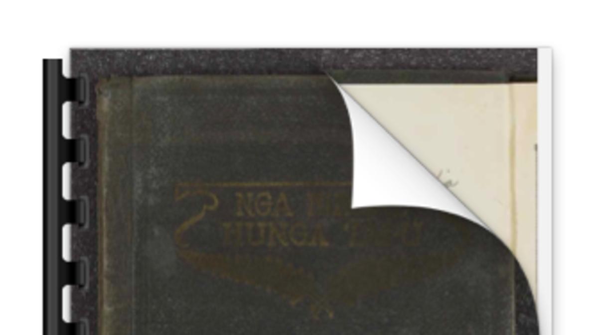 Māori Hymn Book - Ngā Hīmene Hunga Tapu 1928