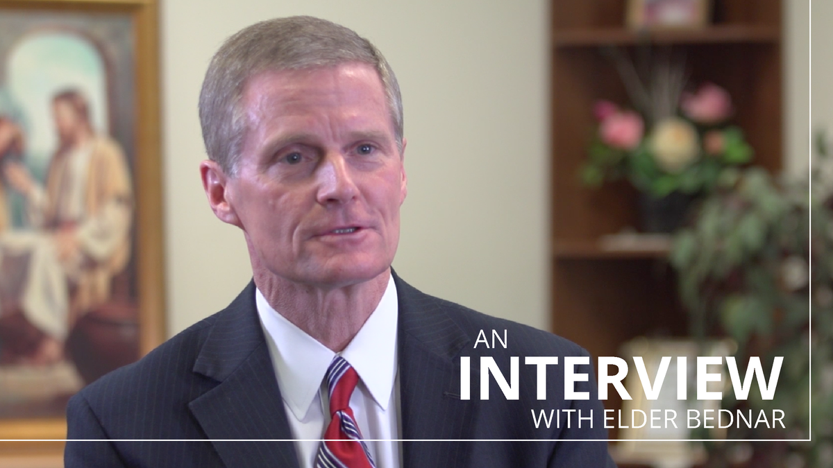 Listen to what Elder Bednar said to the saints in Australia and New Zealand