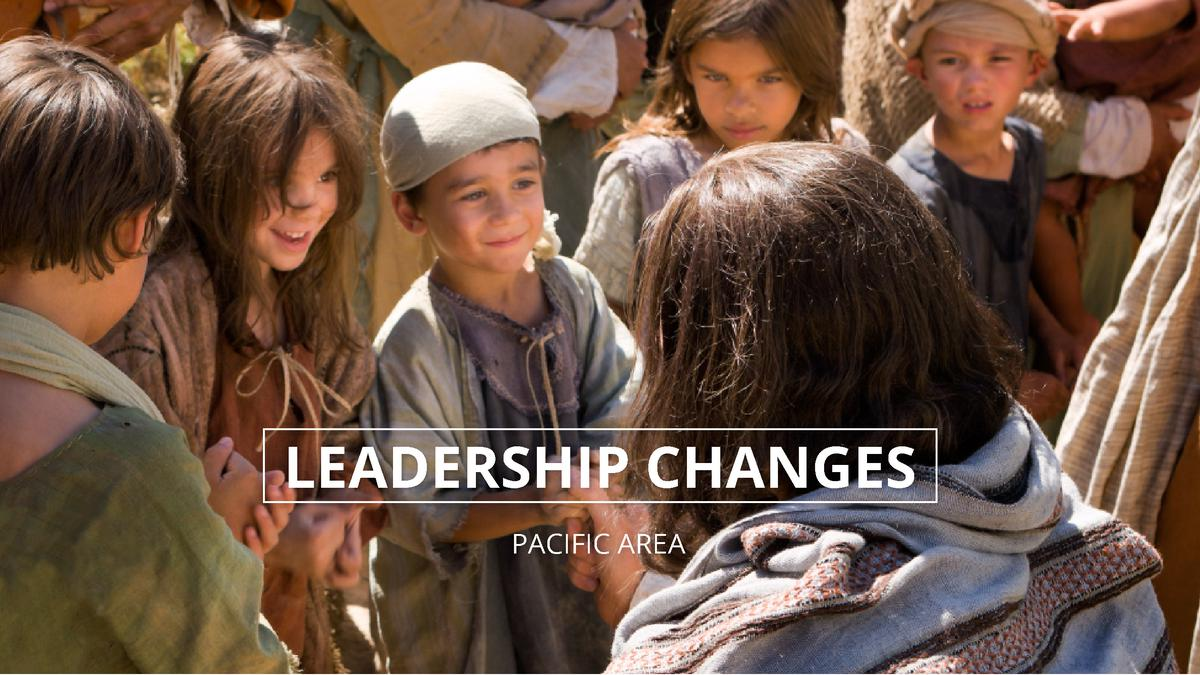 Leadership Changes in the Pacific Area for the Month of May 2016