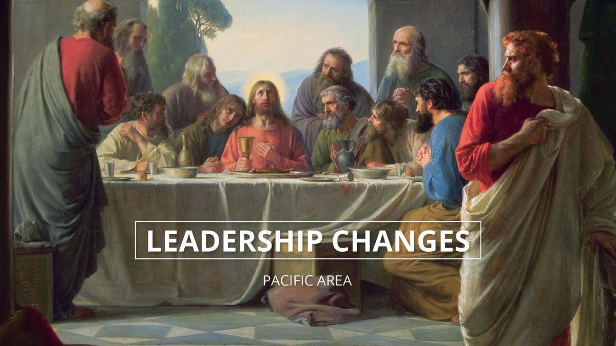 Leadership changes in the Pacific Area for the month of August 2016