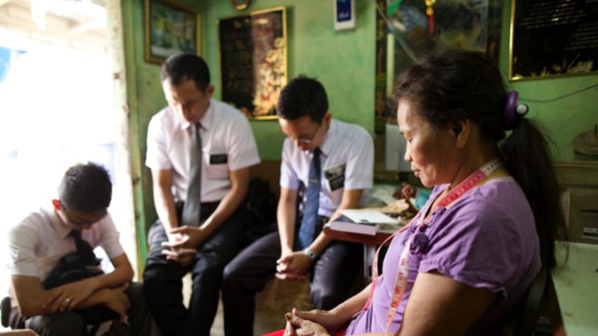 Gathering Israel through Missionary Work