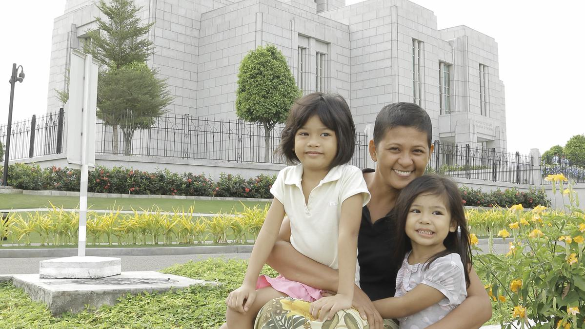 family, temple, mormon, lds