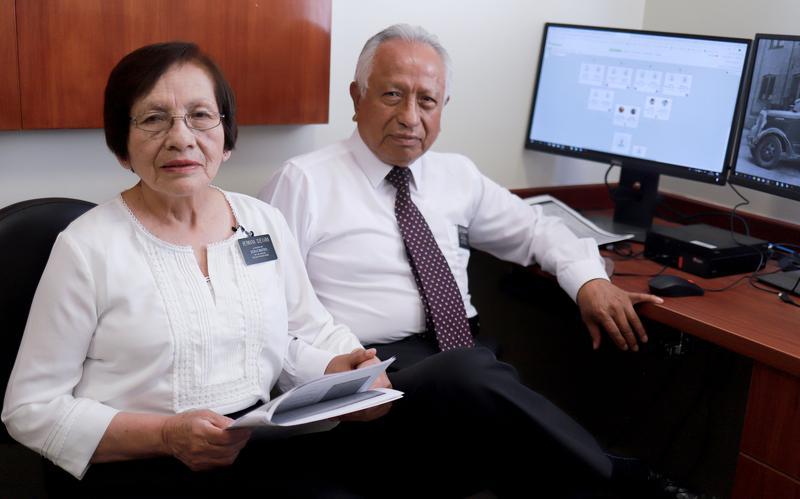 Misioneros mayores viviendo en casa