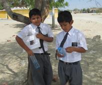 Soy misionero.- Ellos vivieron la alegría del llevar el mensaje de Dios a niños como ellos.