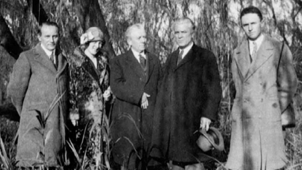 Dedicación de Sudamérica al Evangelio por el Élder Melvin J. Ballard