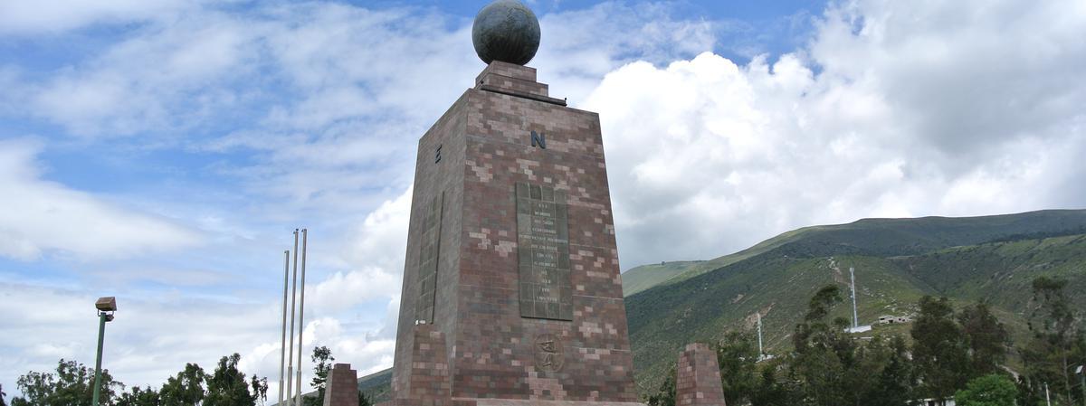 Monumento en Ecuador