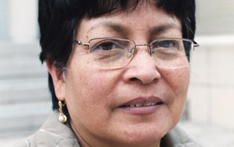 Ana Cumandá Rivera, miembro SUD de Ecuador.