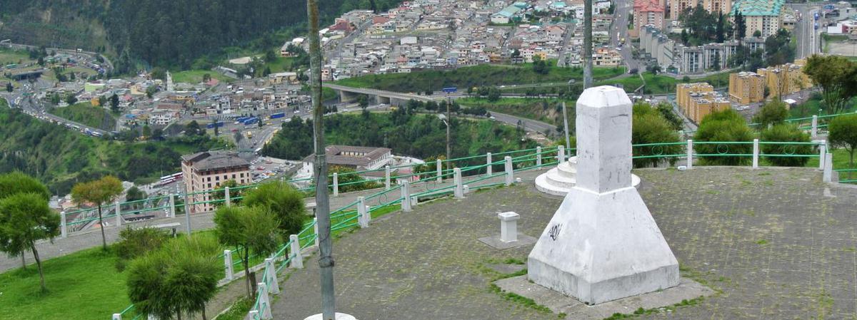 El cerro Panecillo, lugar de la Dedicación