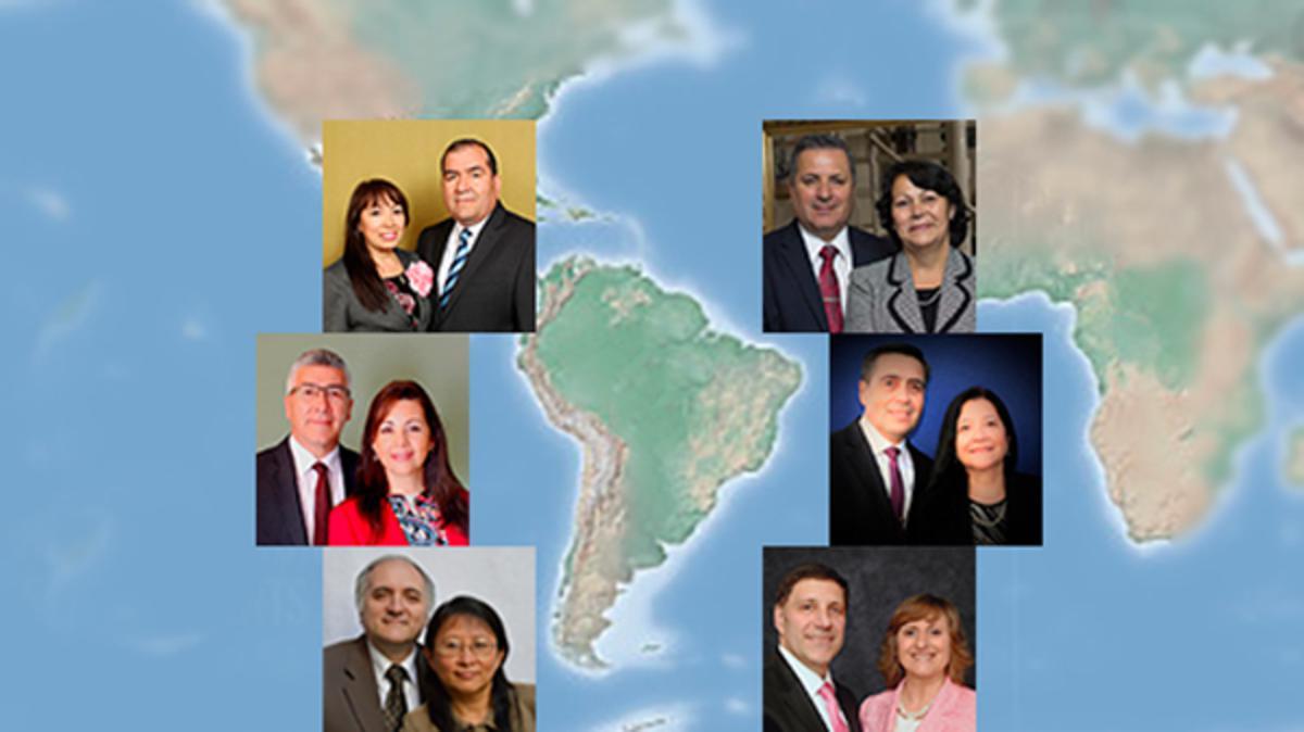 Seis miembros del Área Sudamérica Sur fueron llamados como presidentes de misión