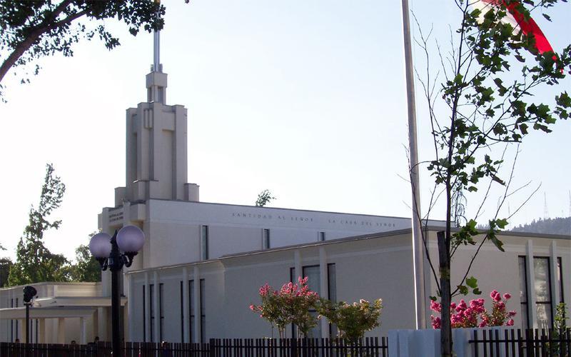 Templo Santiago Chile