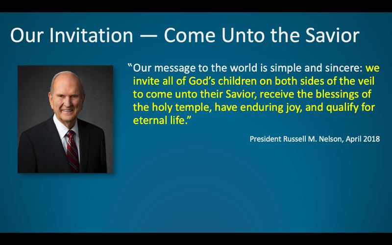 Our Invitation quote