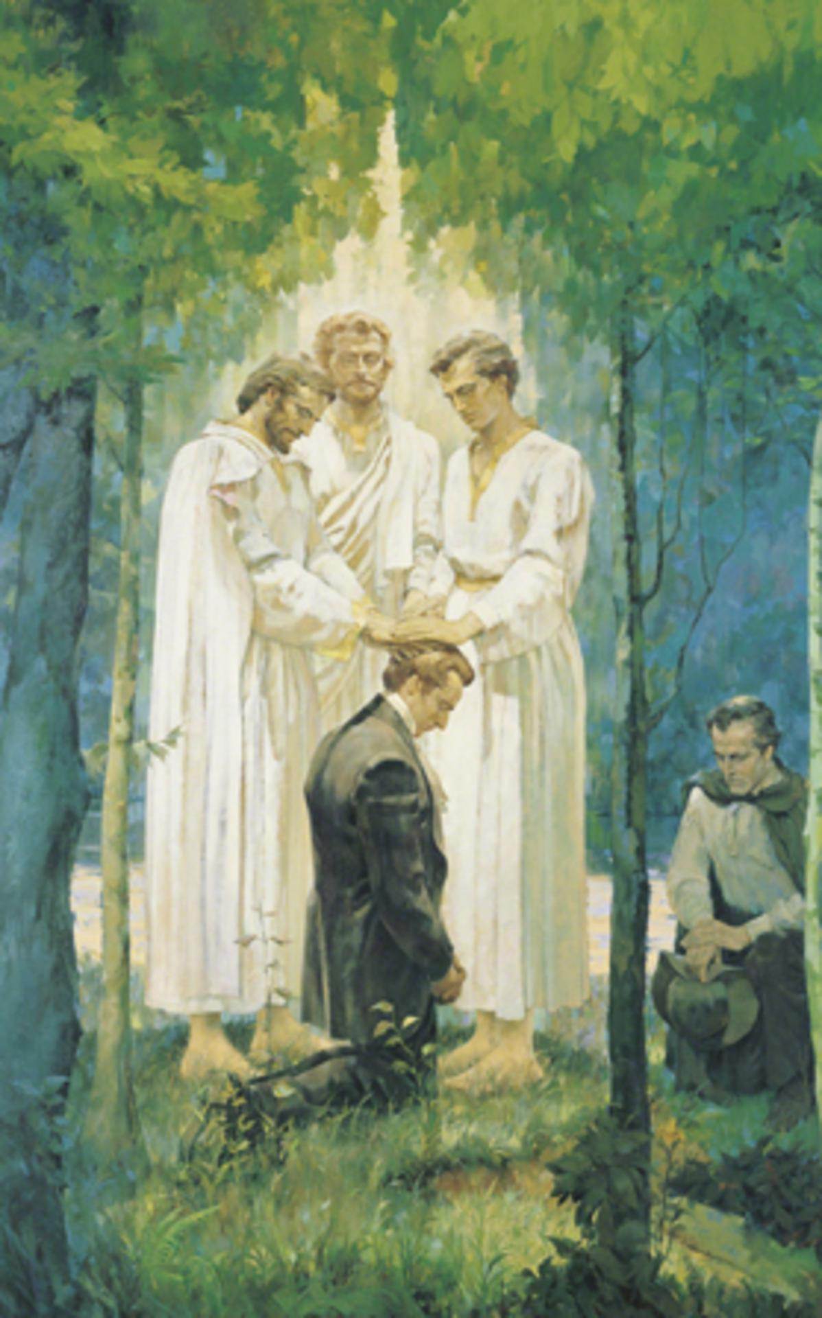 Melchizedek priesthood given to Joseph Smith
