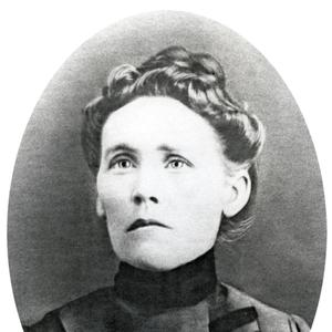 Trained and set apart as a midwife, Emma Liljenquist tended to numerous sick patients and estimated she had delivered over a thousand babies in Hyrum, Utah. (Courtesy International Society Daughters of Utah Pioneers, Salt Lake City.)