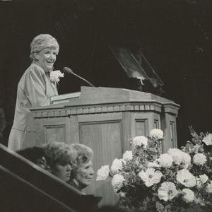 En 1983, durante un discurso que dio en la Reunión General de Mujeres. Escritora, redactora y una personalidad en la radio y la televisión Cannon apoyó activamente la creación de una revista para los jóvenes de la Iglesia y prestó servicio como redactora adjunta cuando <i>New Era</i> comenzó a publicarse en 1971. Asimismo, ella pidió que las mujeres jóvenes tuviesen instrucción religiosa los domingos, además de sus reuniones entre semana. La Iglesia adoptó esta norma en 1980 mientras ella servía como Presidenta General de Mujeres Jóvenes.
