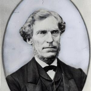 Daniel Hanmer Wells (1814–1891) was head of the Nauvoo Legion in Utah Territory, mayor of Salt Lake City, second counselor to Brigham Young, and president of the Manti temple. He married Emmeline B. Woodward in 1852 as his sixth plural wife. Three daughters were born to them between 1853 and 1862. (PH 2014, Church History Library, Salt Lake City.)