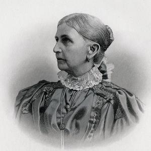 This engraved portrait of Emmeline B. Wells appeared in Orson F. Whitney&rsquo;s <i>History of Utah.</i> Engraving by E. G. Williams and Bro., New York. (In Orson F. Whitney, <i>History of Utah,</i> vol. 3 [Salt Lake City: George Q. Cannon and Sons, 1892], after page 478. PH 327, Church History Library, Salt Lake City.)