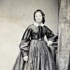 Studio portrait by Savage and Ottinger, circa 1862–1872. (PH 200, Church History Library, Salt Lake City.)