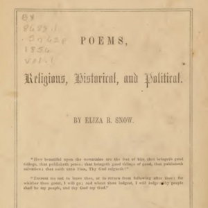 <i>Poems, Religious, Historical, and Political</i>