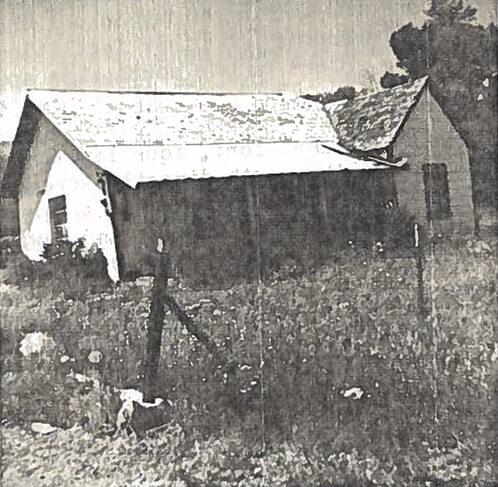 Single-story frame house