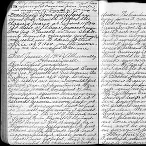 In his 10 June 1916 journal entry, George F. Richards related his call to serve as president of the church's European Mission. (Church History Library, Salt Lake City.)