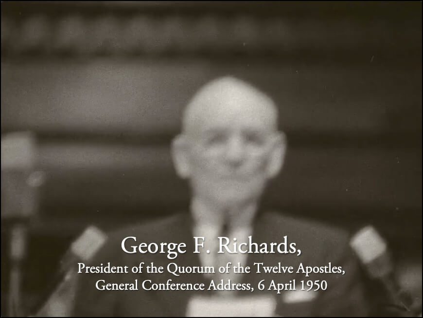 George F. Richards: A Collection of Film Footage