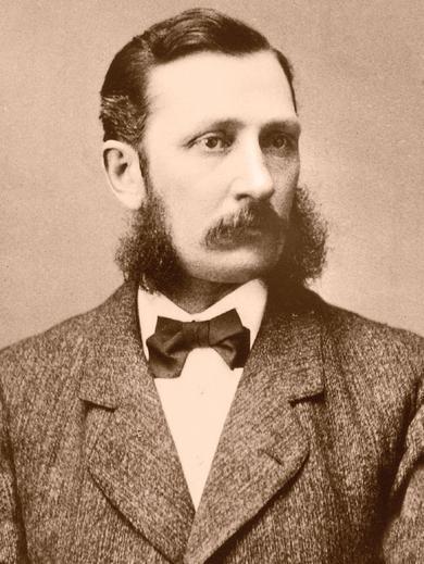<p> Joseph F. Smith, 1874, Liverpool, England</p>