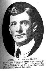 Hale, Arthur Willard