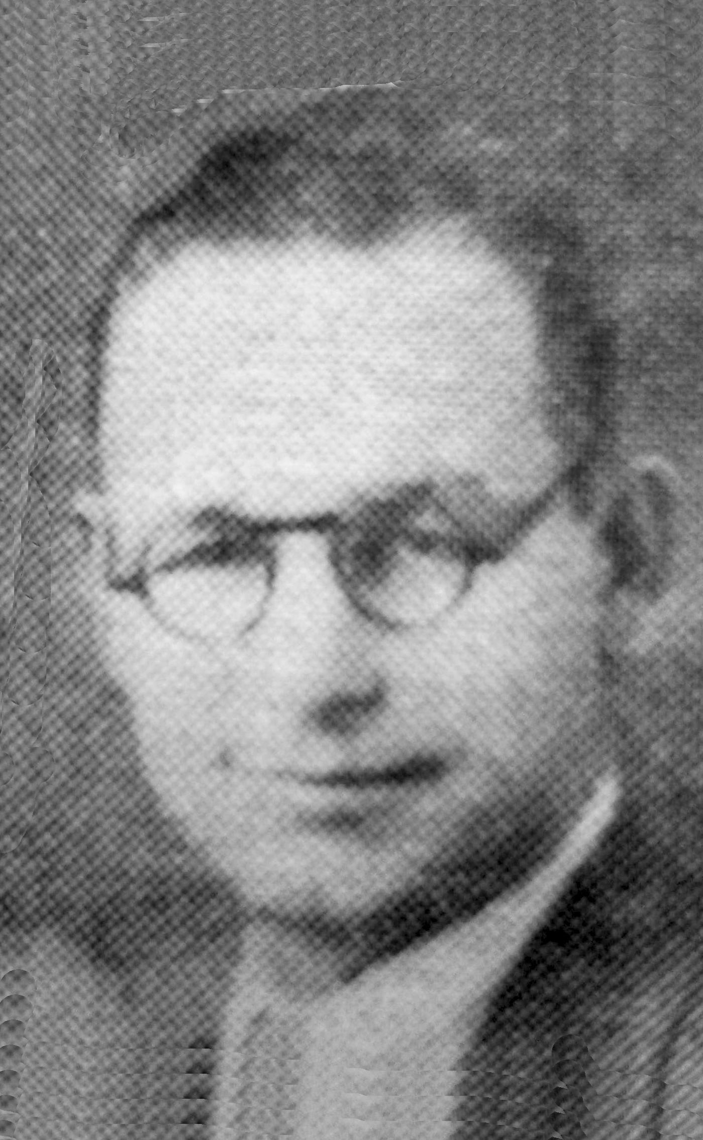 Tenscher, Alvin Jacob