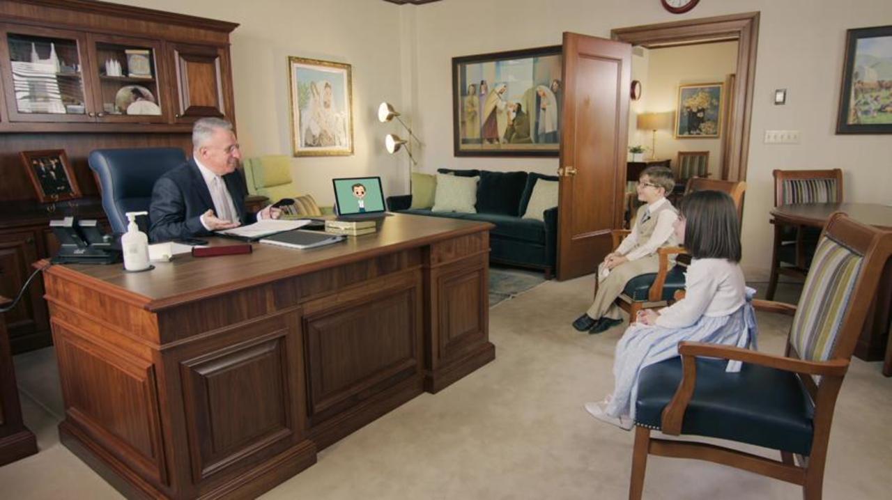 A visit with Elder Ulisses Soares