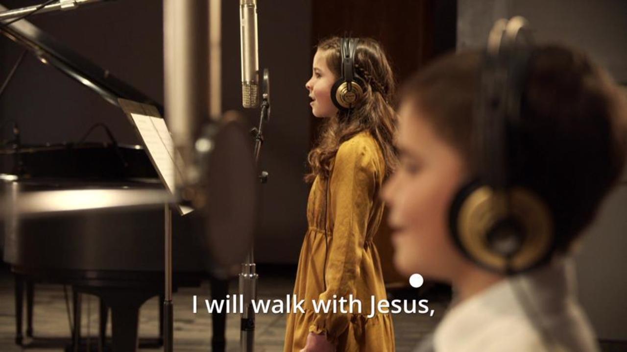 I will walk with Jesus