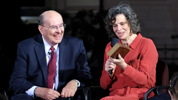 Elder Cook and Sister Holbrook