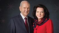 Präsident Nelson und seine Frau
