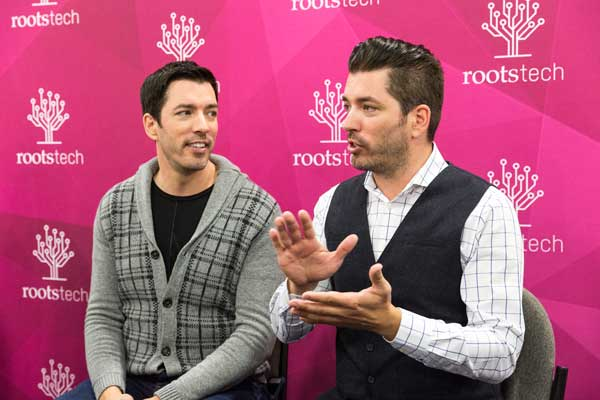 Drew and Jonathan Scott