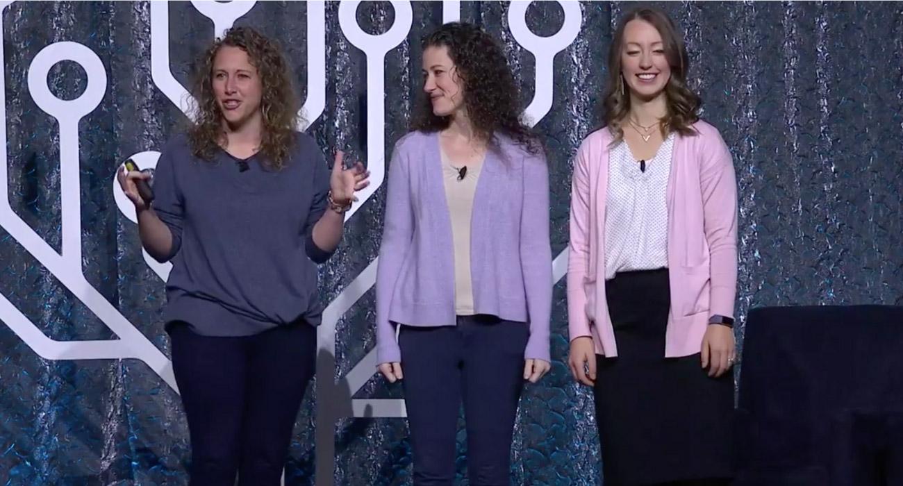 Nicole Dyer, Jana Greenhalgh, Olivia Jewell