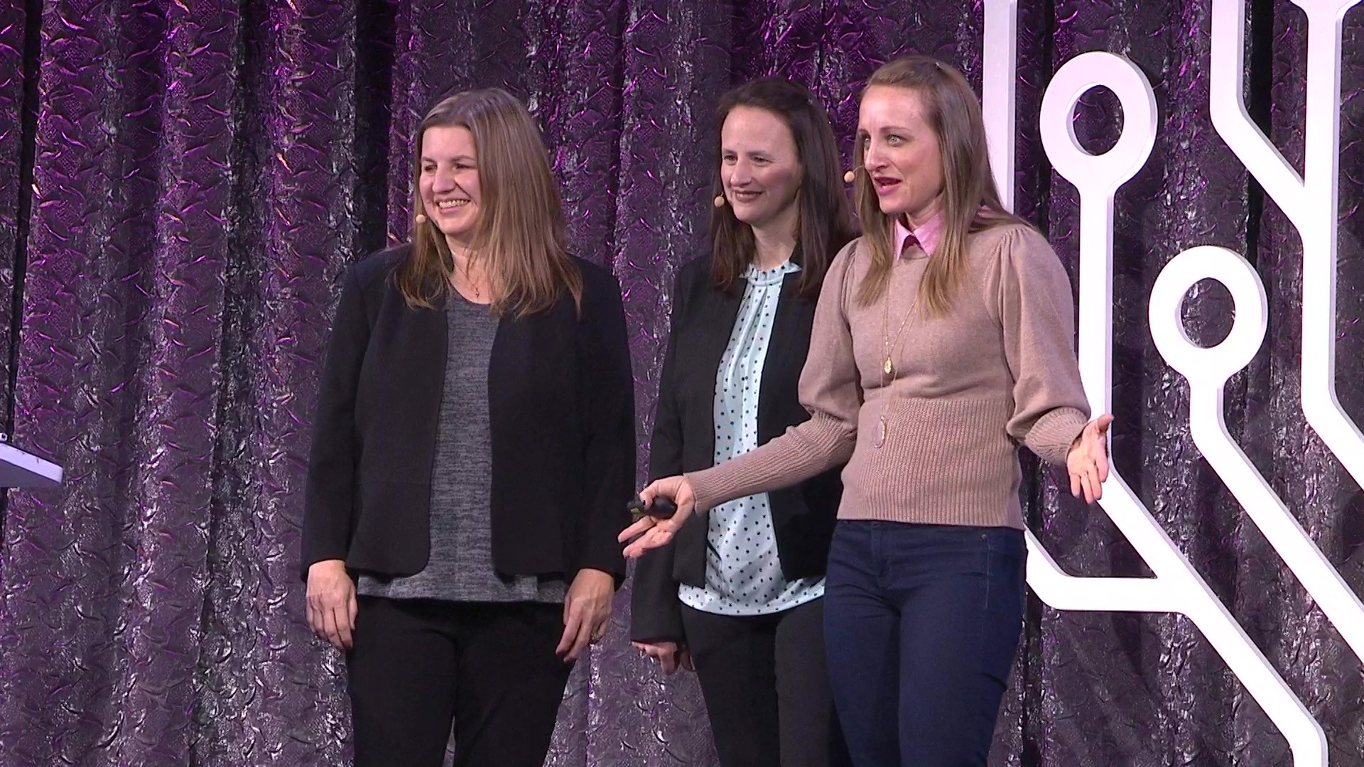 Christi Lynn Jacobsen, Dana Leeds, Diahan Southard