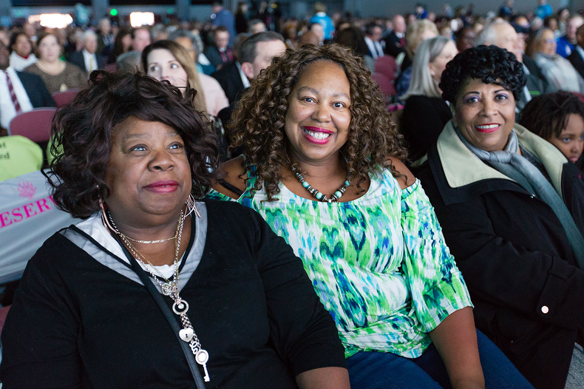 Attendees at RootsTech