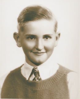 young Thomas Monson as a boy