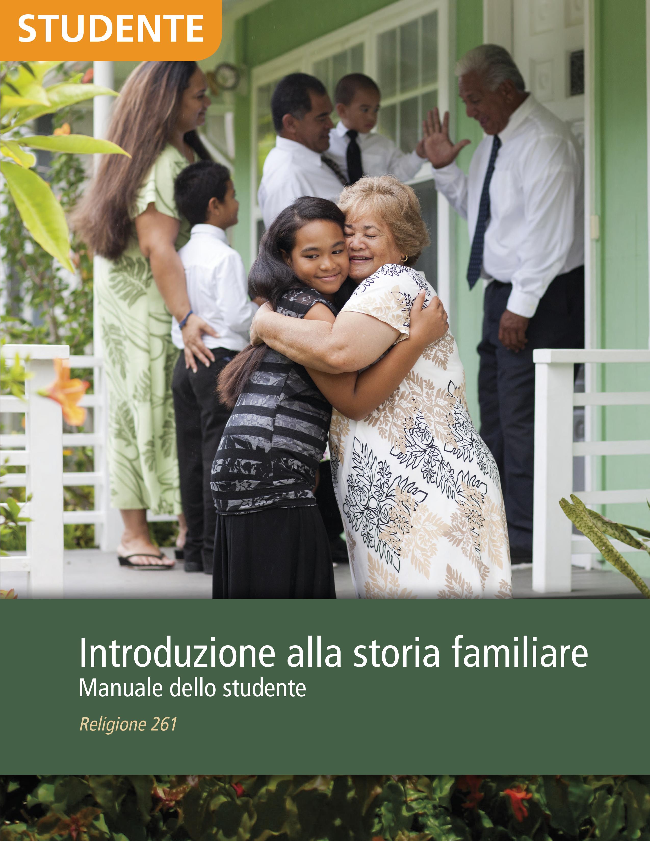Introduzione alla storia familiare – Manuale dello studente (Religione 261)