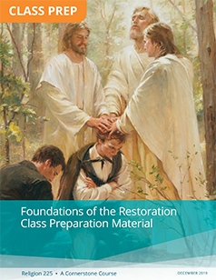 Foundations of the Restoration Class Preparation Material (Rel 225)