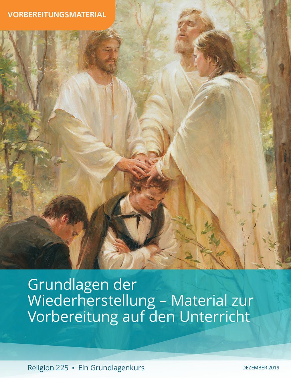 Grundlagen der Wiederherstellung – Material für den Lehrer (Religion 225)