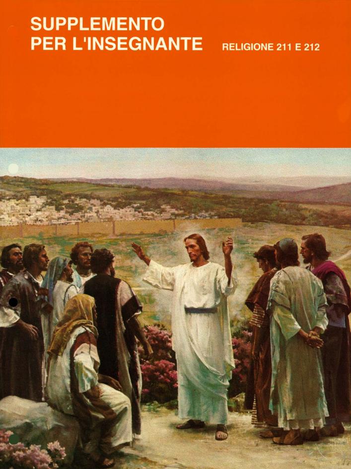 Vita e insegnamenti di Gesù e dei Suoi apostoli – Manuale dell'insegnante