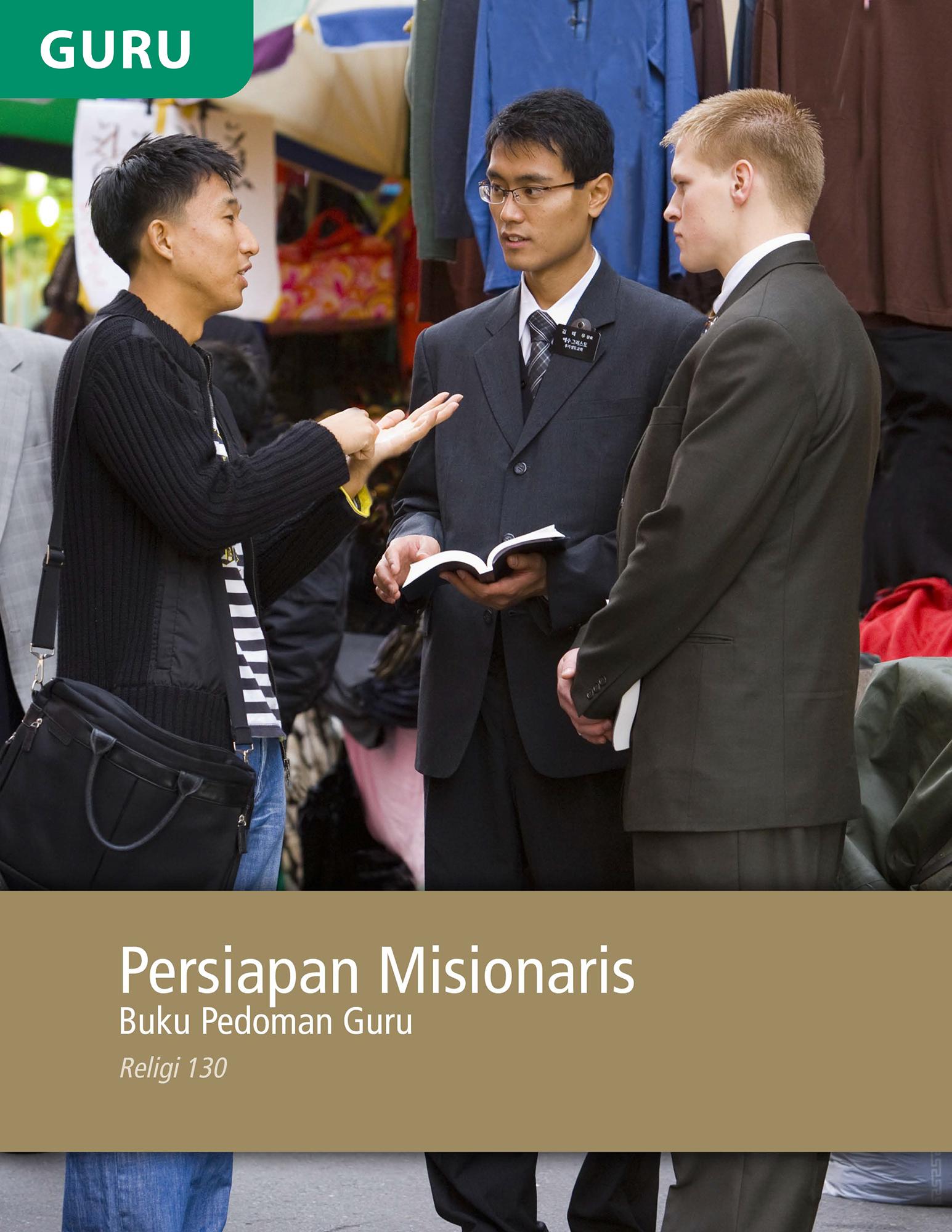 Buku Pedoman Guru Persiapan Misionaris (Religi 130)