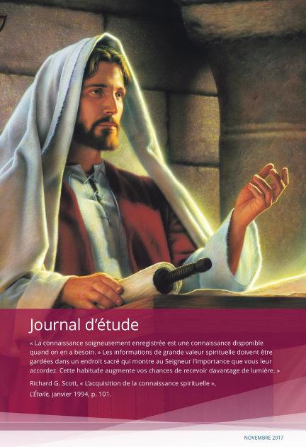Journal d'étude