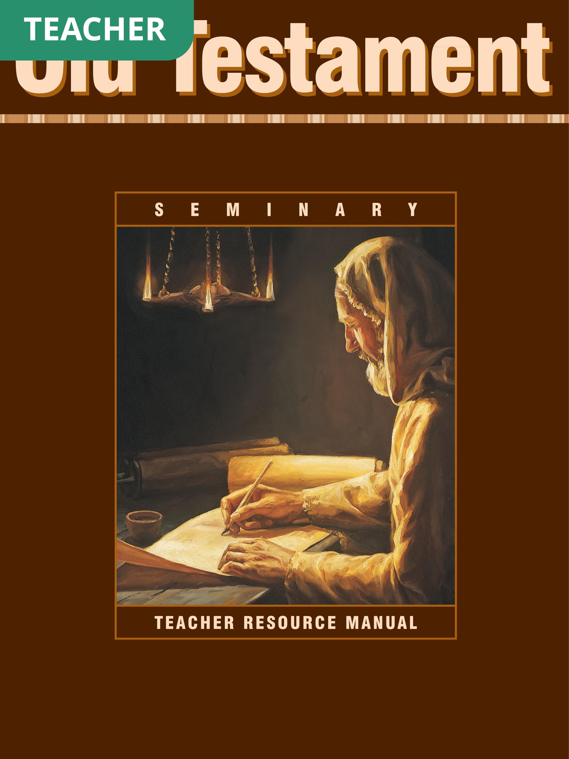 Old Testament Seminary Teacher Resource Manual
