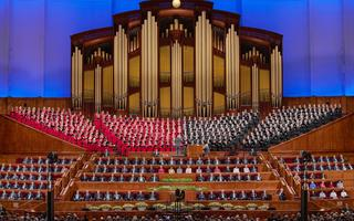 Review talks about the temple from recent General Conferences