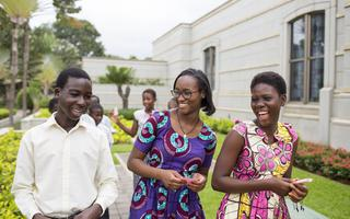 Youth Accra Ghana Temple