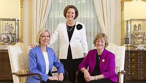 Präsidentinnen der Hilfsorganisationen
