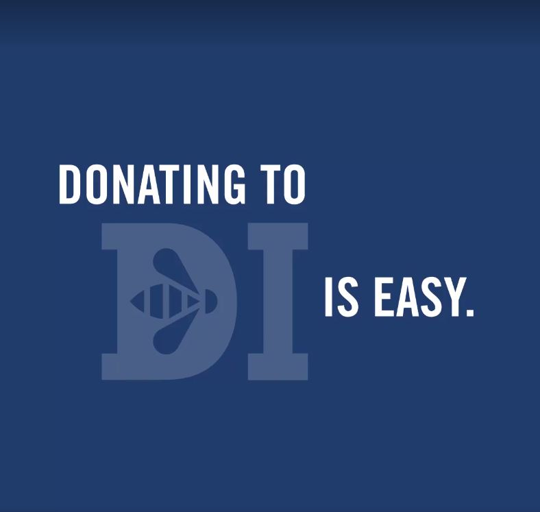 Donating to DI is easy