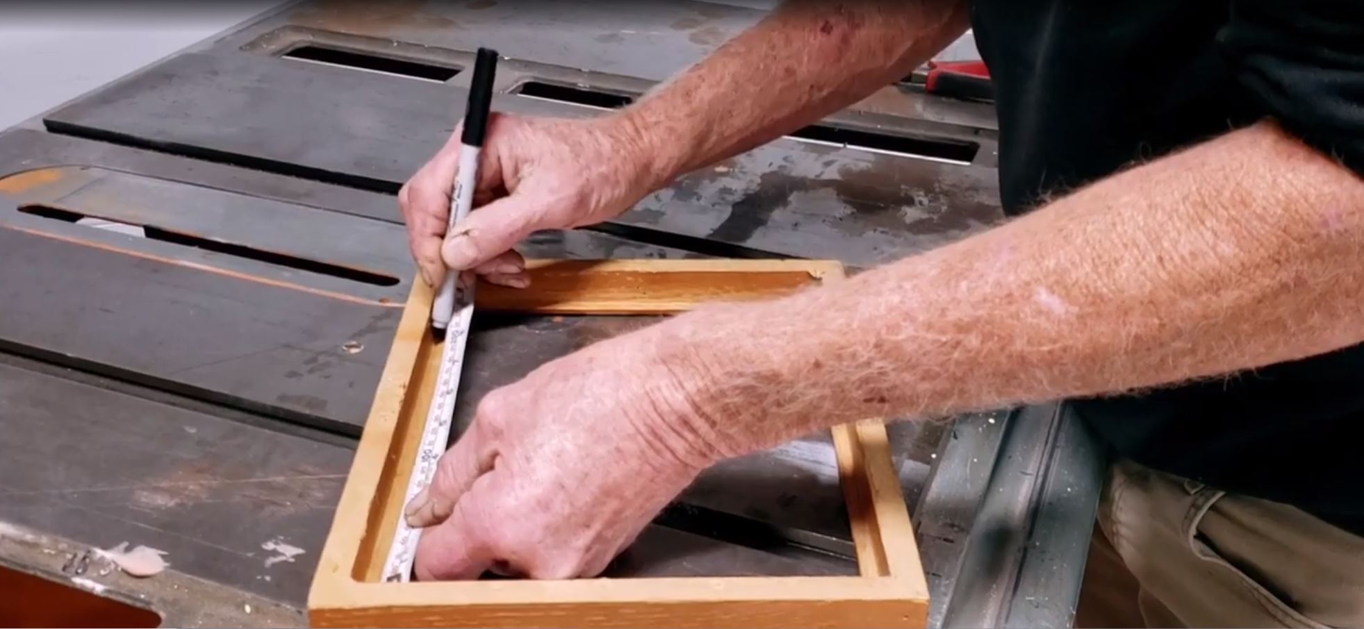 How to cut frames